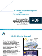 Intro to Climate Change and Air Quality