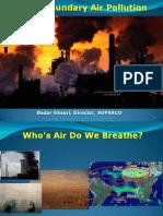 Trans Air Pollution in Quetta