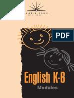 NSW BOS English Modules K-6