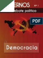 Comisión Ideológica del PCOE - Cuadernos para el debate - Nº 1 - Democracia