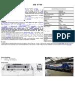 Modélisme ferroviaire à l'échelle HO. Fiche compos BB 27300 par Laurent Arqué