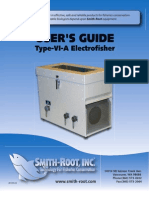 electrofisher user manual