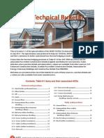 SAP NHER Technical Bulletin