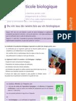 Viticulture Bio en France