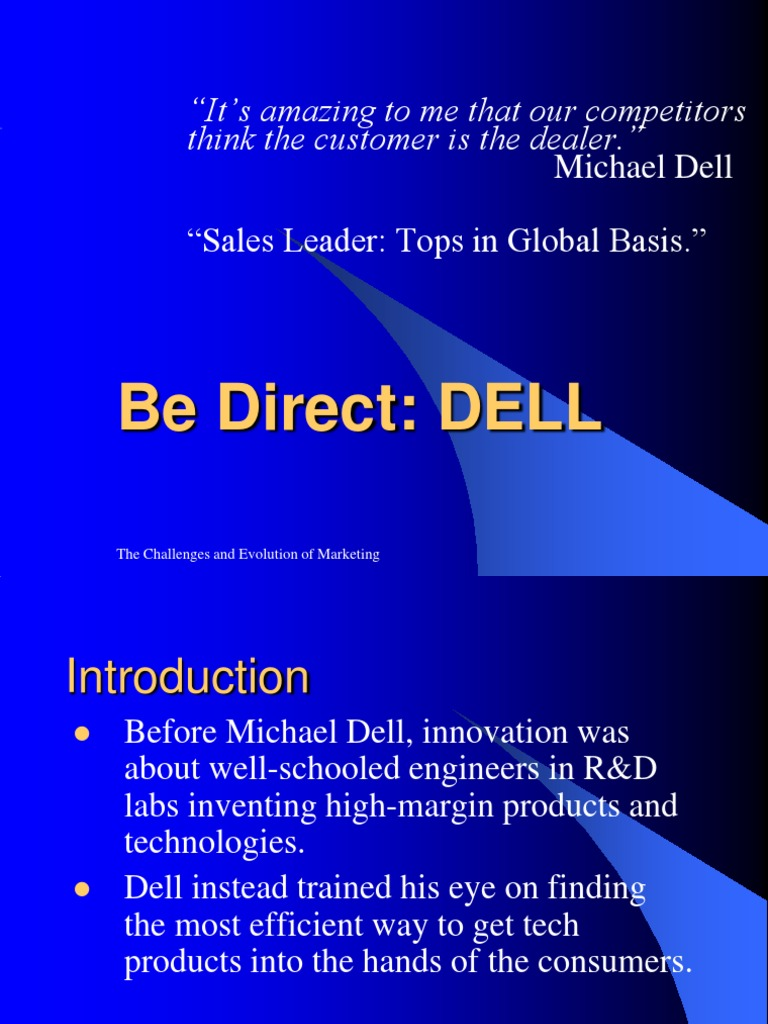 dell introduction
