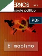 Cuadernos para el debate - Nº6 - El maoismo