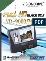Gps Auto Kamera Visiondrive Vd9000fhd Bedienungsanleitung Deutsch