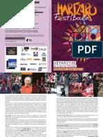 Programme Hartzaro 2013