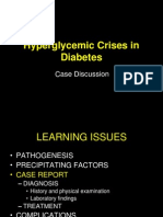 hiperglikemic crisis in diabetes
