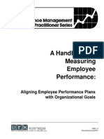 A Handbook for Measuring Employee Performance