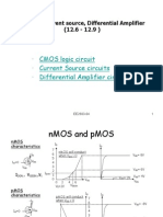 CMOS,Current source, Differential Amplifier