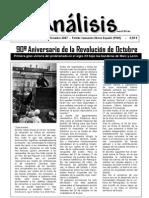 ANALISIS  Numero 03 Noviembre 2007