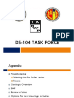 DS-104 Task Force Meeting Presentation (Oct. 30, 2012)