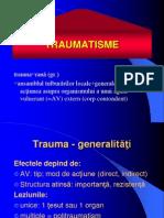 traumatisme generalitati