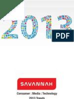 2013 Trends :