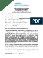 17 Profit Participation Agreement
