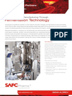 SAFC Pharma™ - High-Potent API Manufacturing Through Fermentation Technology