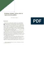 El debate Schmitt Kelsen sobre la representación política.pdf