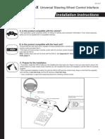 universal steering wheel adapter