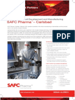 SAFC Pharma - Carlsbad - cGMP Viral Product Development and Manufacturing