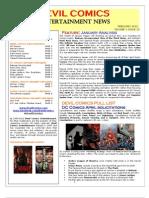 Devil Comics Entertainment February 2013