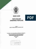 Dinamika Populasi Ikan - DR. IR. SURADI WIJAYA SAPUTRA, MS (UNDIP)