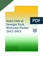 Icgt Welcome Packet 2012-13 [v.1.0]