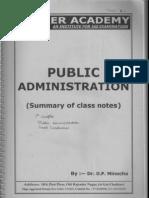 Public Administration By Fadia And Fadia Epub