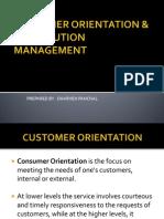CUSTOMER ORIENTATION & DISTRIBUTION MANAGEMENT.pp