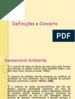 Aula 1a Definições e objetivos da Vigilância Sanitária e Ambiental;
