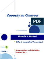 Capacity to Contract