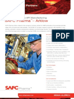 SAFC Pharma - Arklow Facility- Commercial Scale API Manufacturing