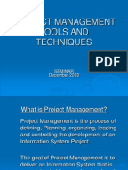 Project management research papers