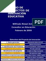 Guía Diseño Proyectos Innovación WRA Febrero 2009