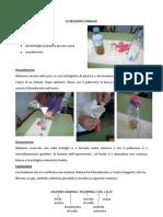 esperimenti bicarbonato