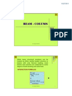 beam coloum