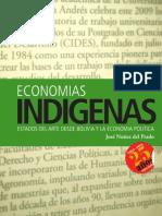 Economías Indígenas. José Nuñez del Prado
