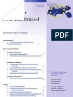 Tirol in Europa, newsletter am 29.Januar 2013
