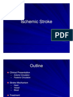 Lecture Ischemic Stroke