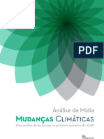 Mudanças Climáticas Análise de Mídia 2º Semestre 2008