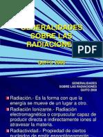 Generalidades Sobre Las Radiaciones 2008