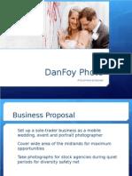 A2 Business Studies - Business Proposal - DanFoy Photo