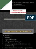Introduction to oraganization development