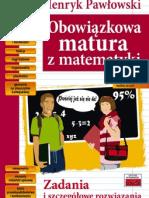 TUTOR Matematyka obowiazkowa matura Henryk Pawłowski s 01-12