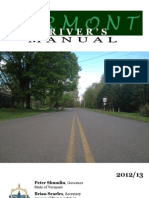 Vermont - Drivers Manual. 2013