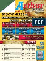 Vam Arthur Pizza