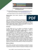 Diagnostico Coleta Seletiva_SIEPE