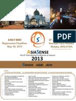 Brochure AsiaSense 2013