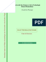 Cours Electromagnetisme Djelouah
