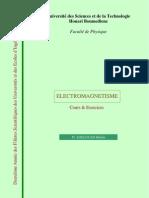 Cours Electromagnetisme Djelouah